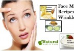 Face Mask Recipes for Wrinkles