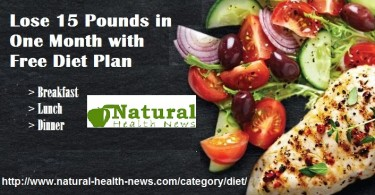 Lose 15 Pounds in One Month with Free Diet Plan