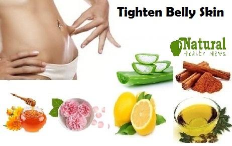 Tighten Belly Skin Naturally