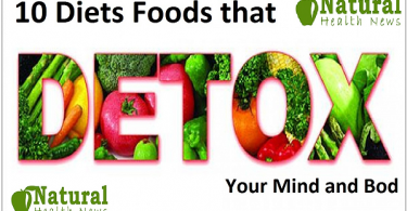 10 Diets Foods that Detox Your Mind and Body