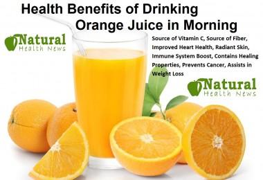 Health Benefits of Drinking Orange Juice in Morning