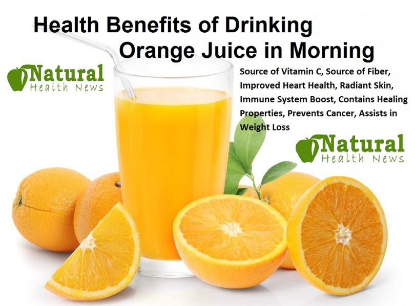 Health Benefits of Drinking Orange Juice in Morning