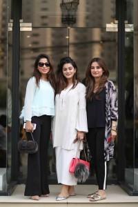 Amna Ahmar, Mahrukh Manan, Sofia Khan
