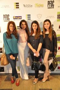 Mehek Rizvi, Amna Ahmar, Mahrukh Manan, Alina Faizan
