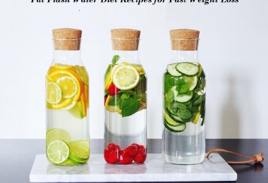 Fat Flush Water Diet Recipes for Fast Weight Loss