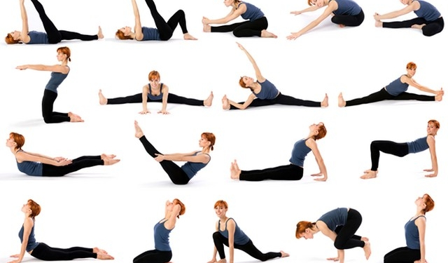 Types of Yoga Poses That Burn the Many Calories