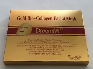 Gold Bio Collagen Facial Mask 1