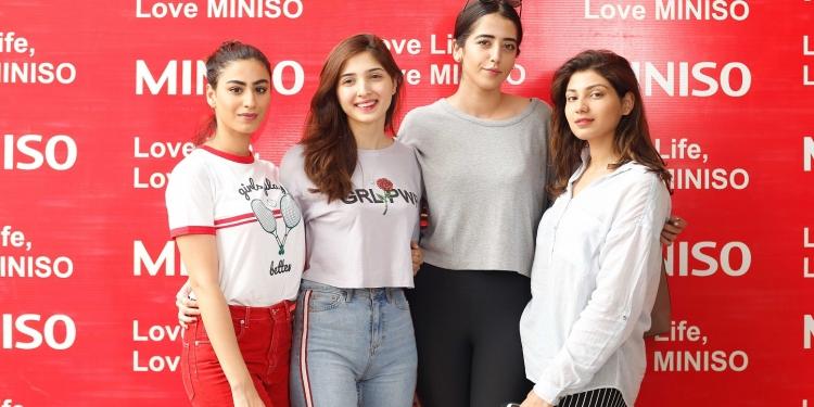 Rehmat Ajmal, Aimen Khan, Sophiya Salim Khan, Sana Tauseef