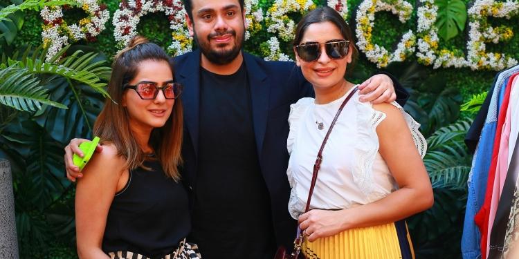 Zahra Raza, Usman Ahmed, Pashmina Ahmed of Team Popsicle