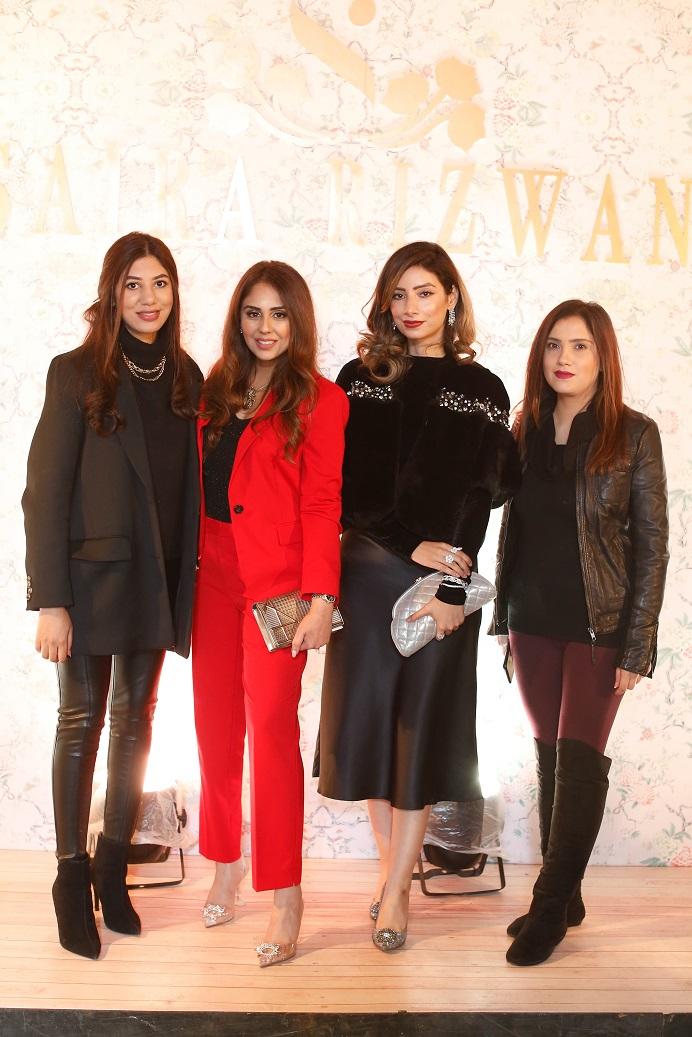 Farina Ghauri, Saira Rizwan, Sehr Khosa, Alina Shahid