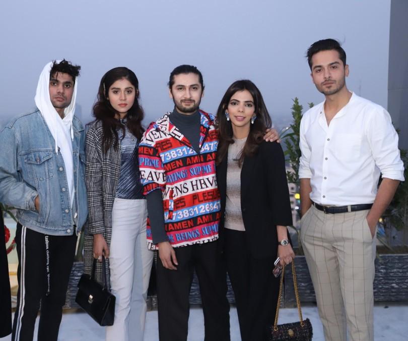 Shan Ali, Marvi Shabbir, Hamza Bokhari, Shireen Rehman, Saeed Rasheed