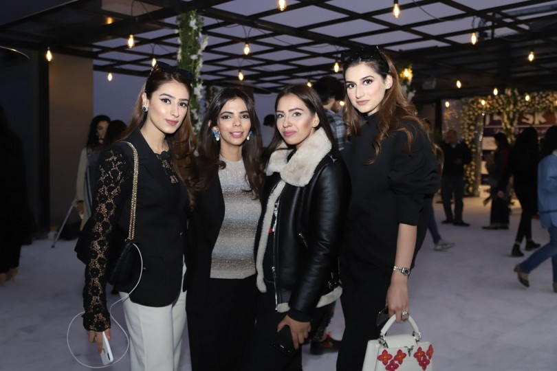 Zarminay Haq, Shireen Rehman, Sumrina Khan, Zahra Malik