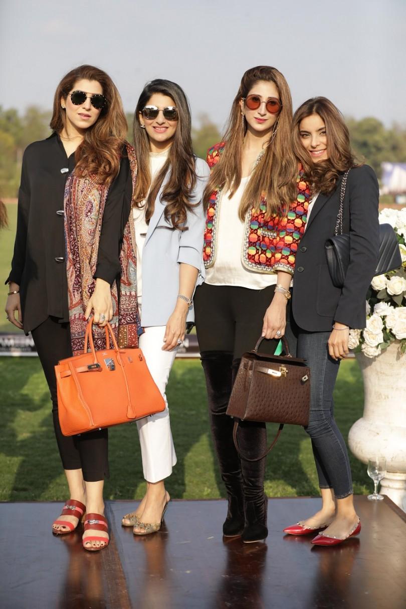 Afifa Hussain, Sana Ashraf, Amna Zeeshan Khan, Laraib Zahra