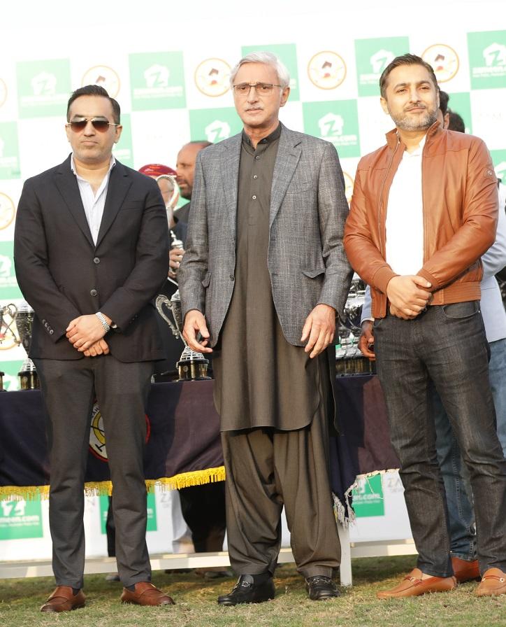 CEO's Zameen.com - Zeeshan Ali Khan & Imran Ali Khan with Chief Guest Jahangir Khan Tareen