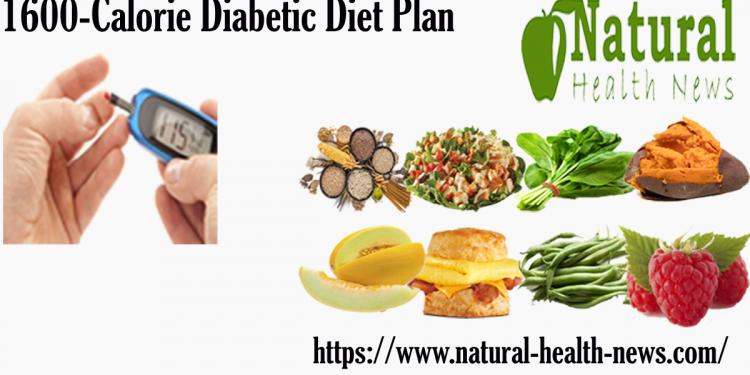 1600 Calorie Diabetic Diet Plan